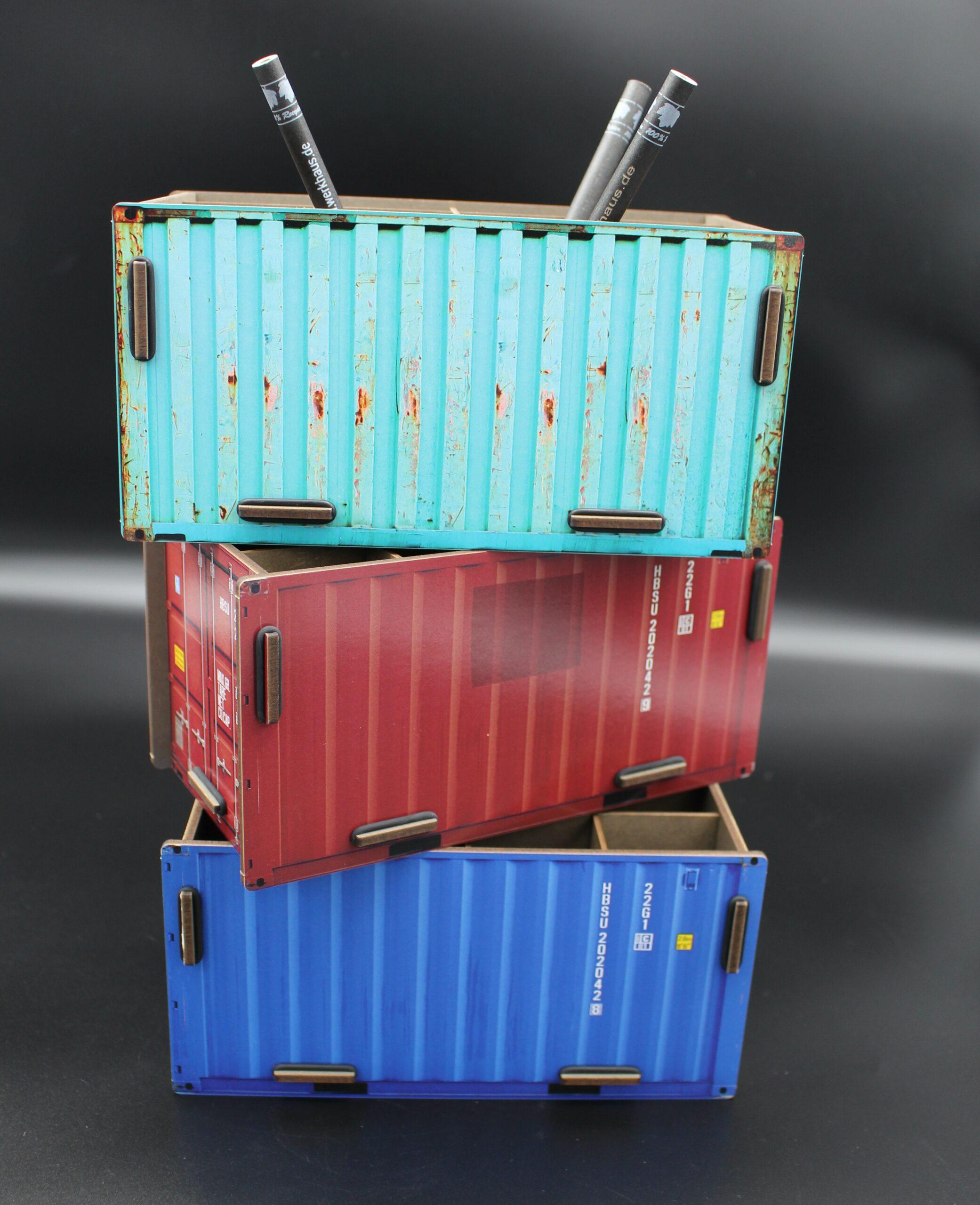 Den eigenen Container-Terminal schaffen…